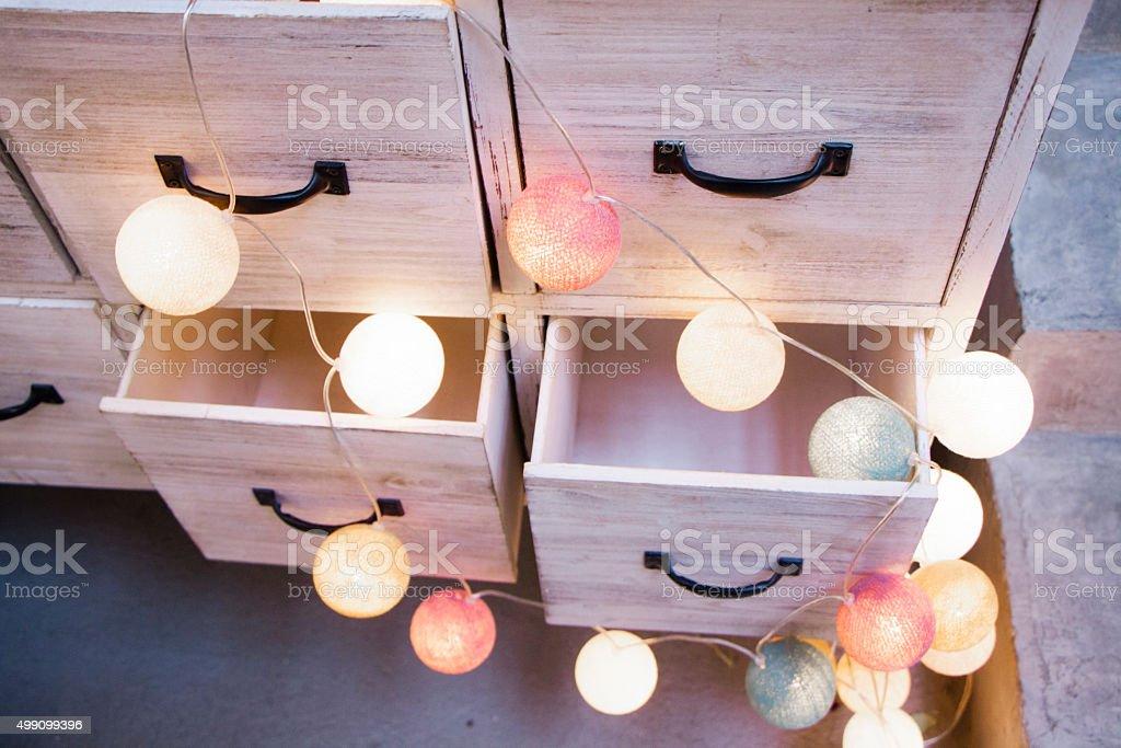 Drawers stock photo