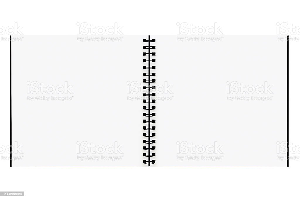 Drawing book stock photo