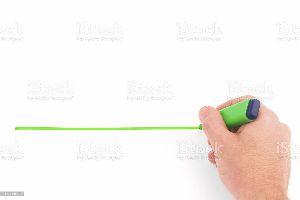 Drawing line stock photo