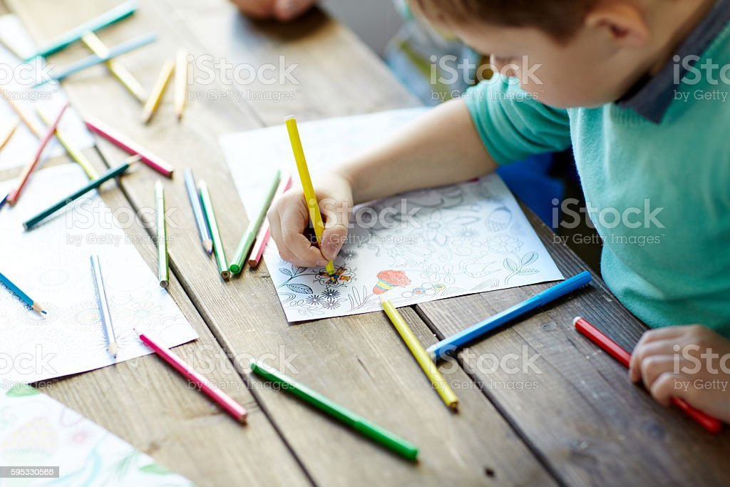 Drawing stock photo