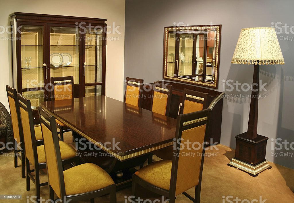 drawing-room stock photo