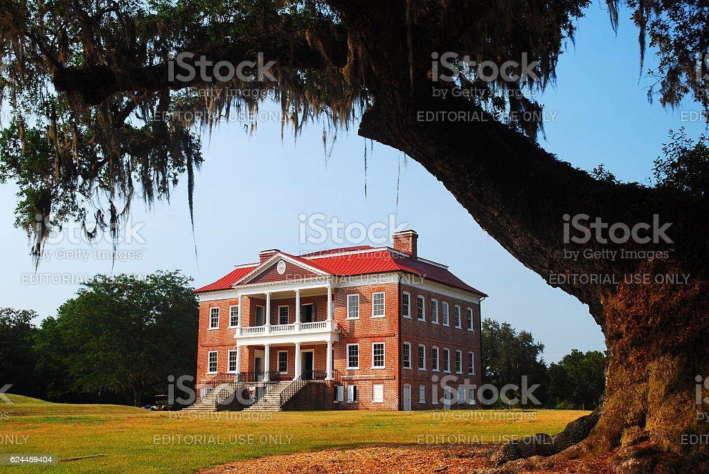 Drayton Hall, Charleston, SC stock photo