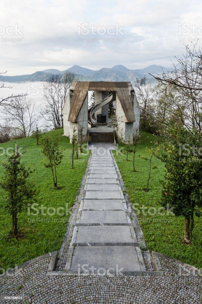 Drazgose memorial stock photo