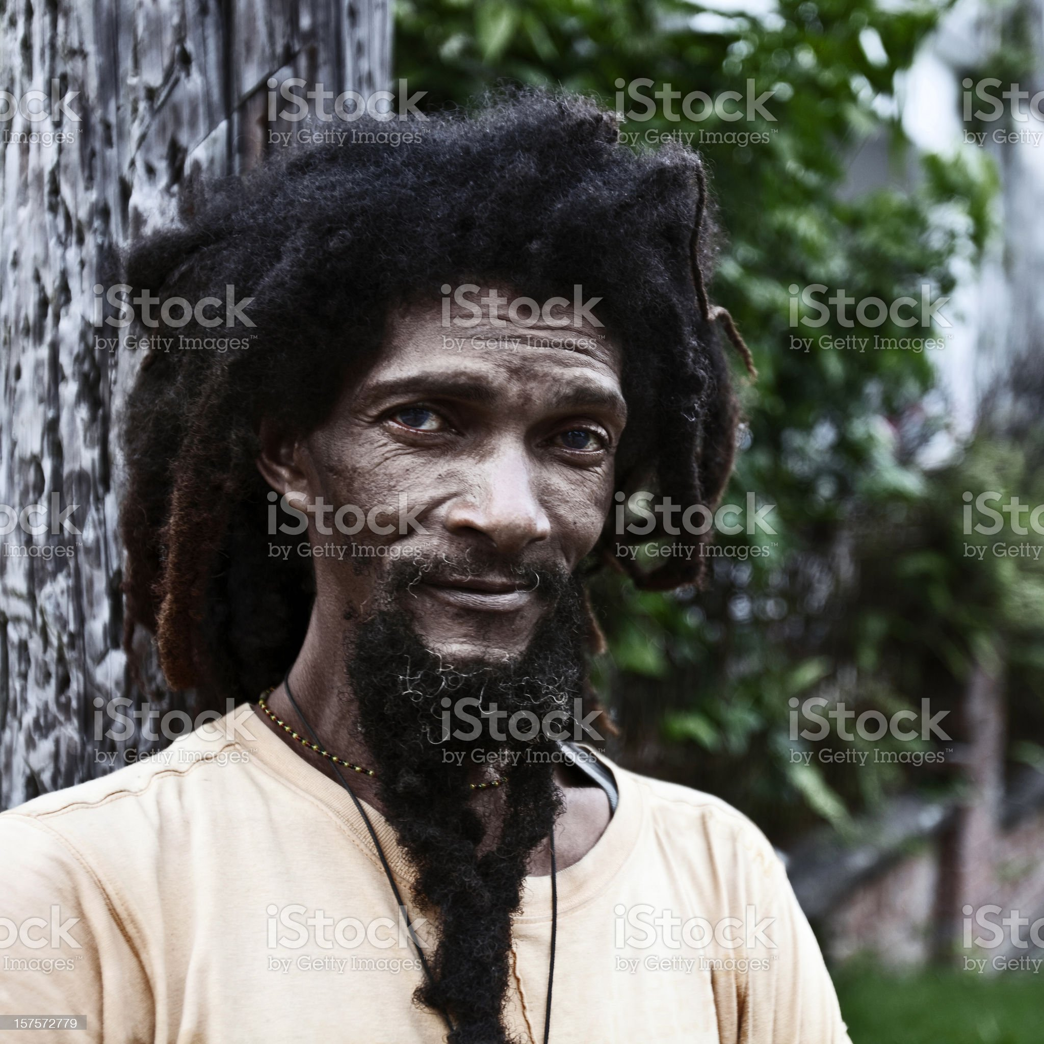 dreadlock portrait royalty-free stock photo