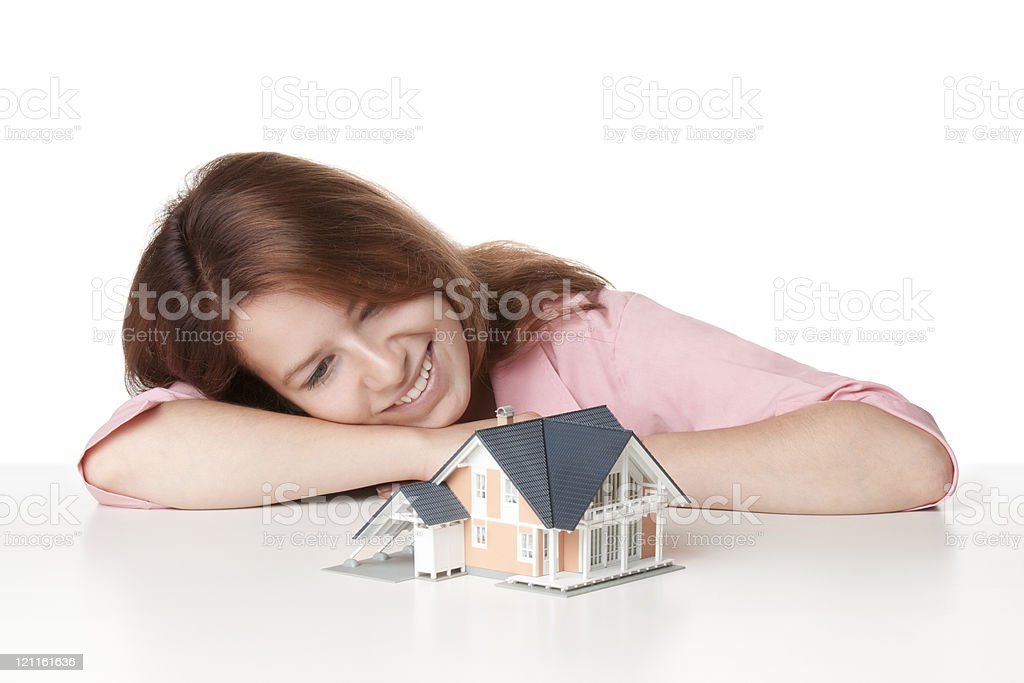 Dream about house royalty-free stock photo