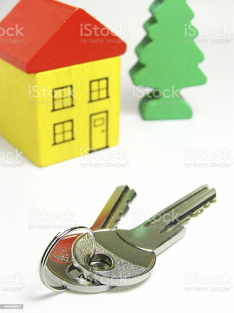 Dream about new house royalty-free stock photo