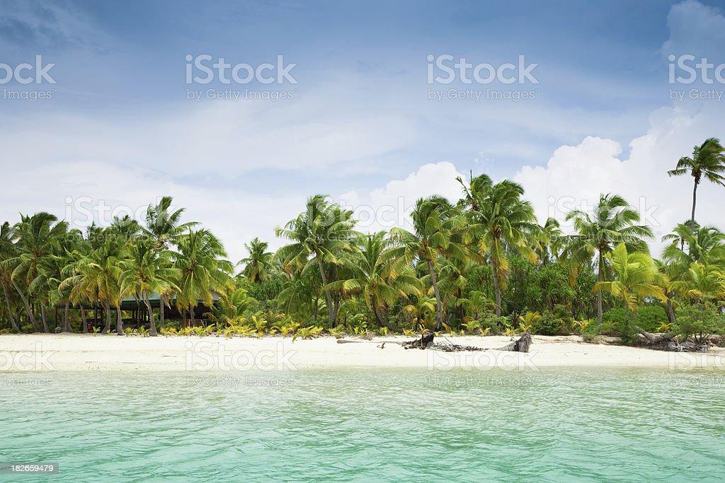 Dream Beach Paradise royalty-free stock photo