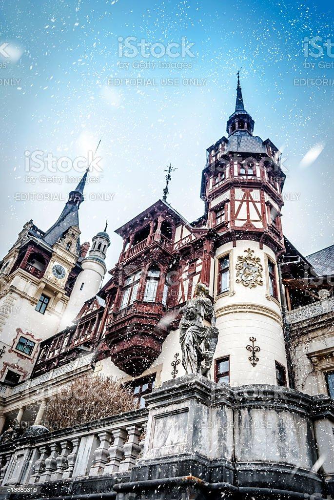 Dream castle stock photo
