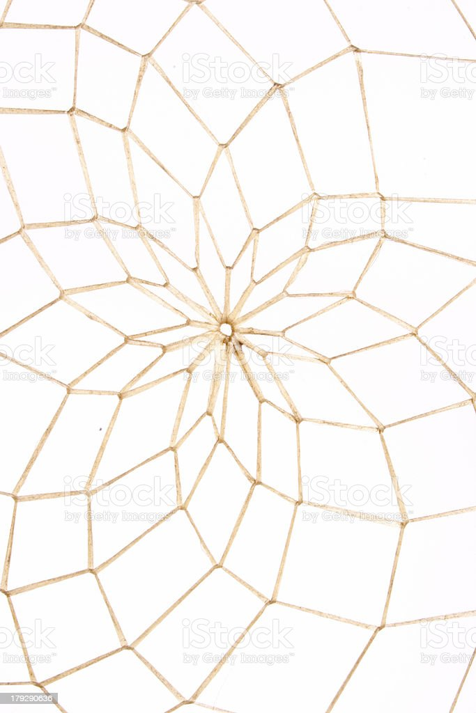 Dream catcher web royalty-free stock photo
