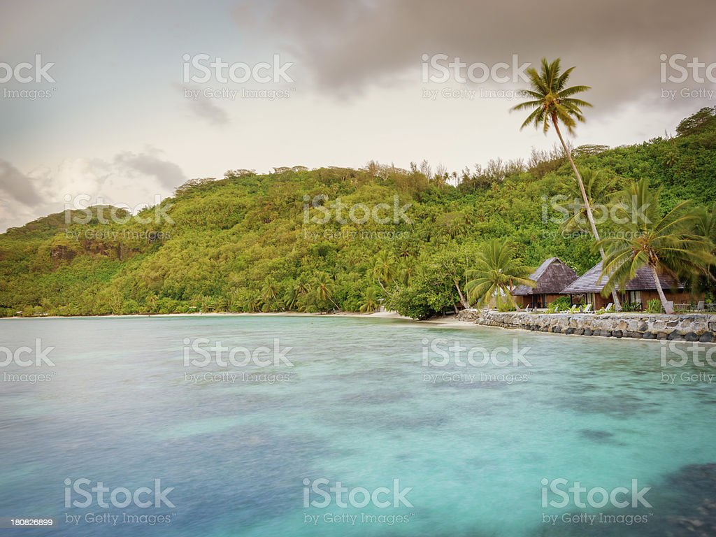 Dream Holiday Luxury Hotel Resort royalty-free stock photo