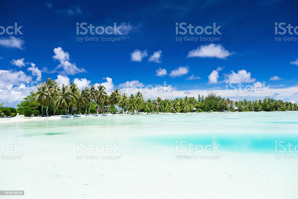 Dream Holiday Perfect Beach royalty-free stock photo