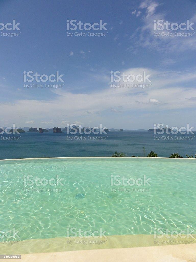 Dream holiday stock photo