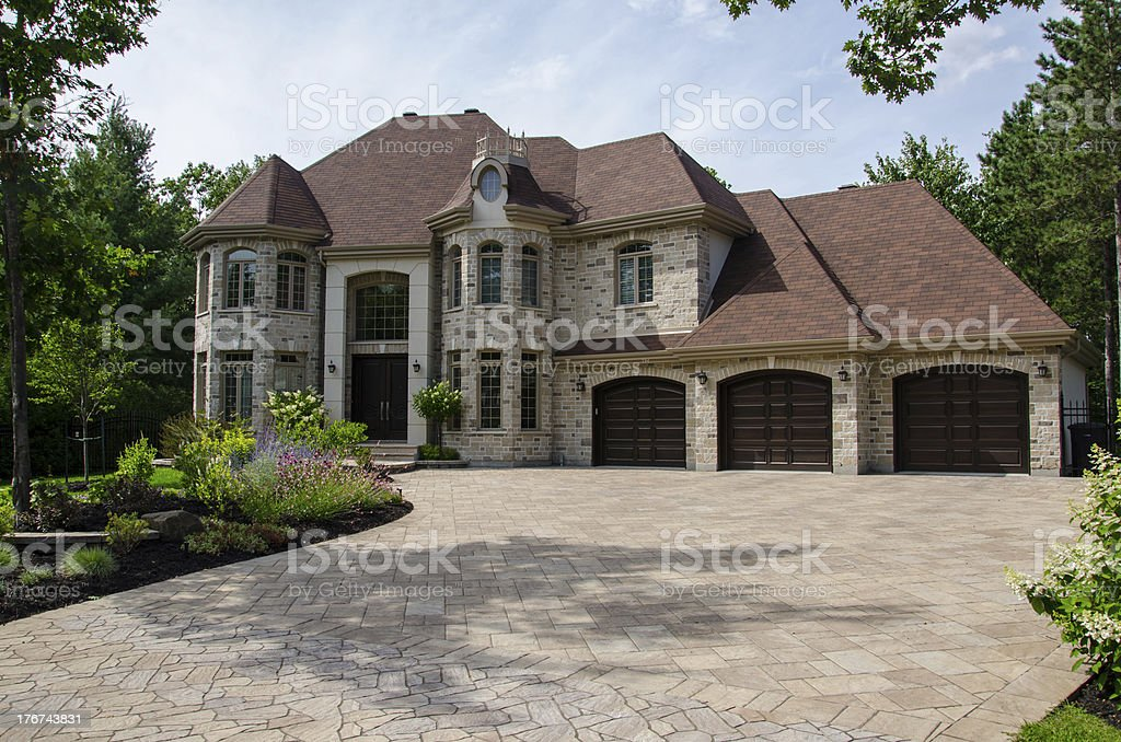 Dream house, Home, Luxury Mansion, Success stock photo