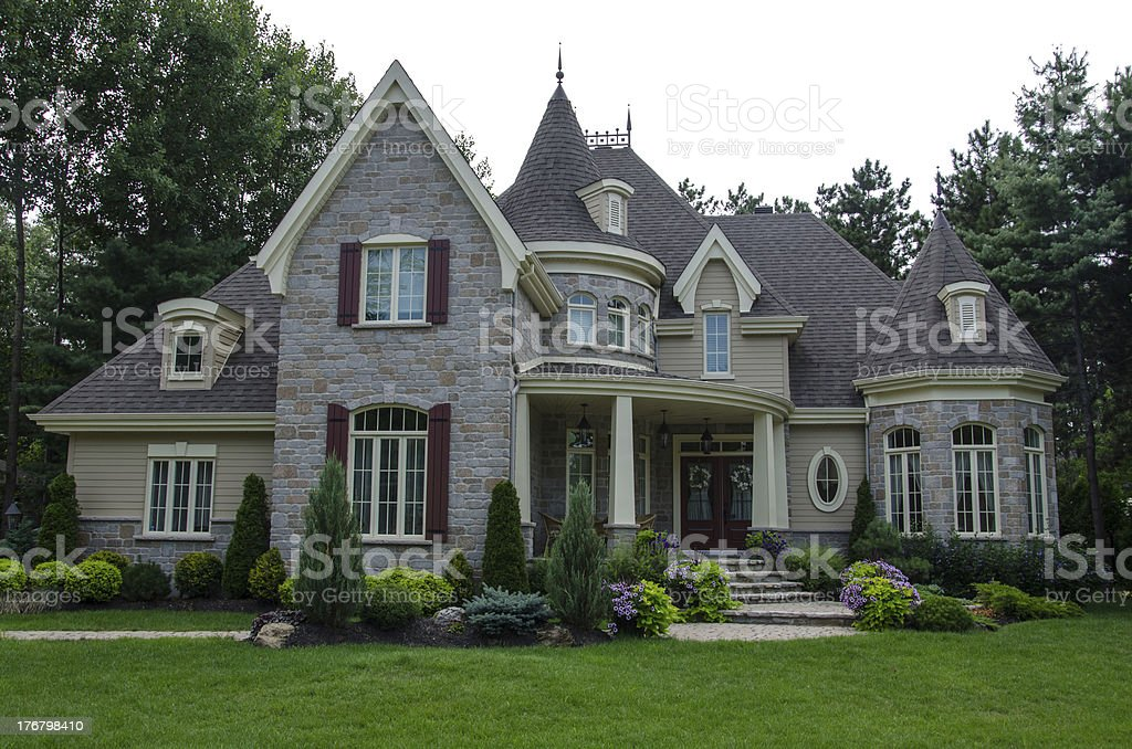Dream house, Home, Luxury Mansion, Success royalty-free stock photo