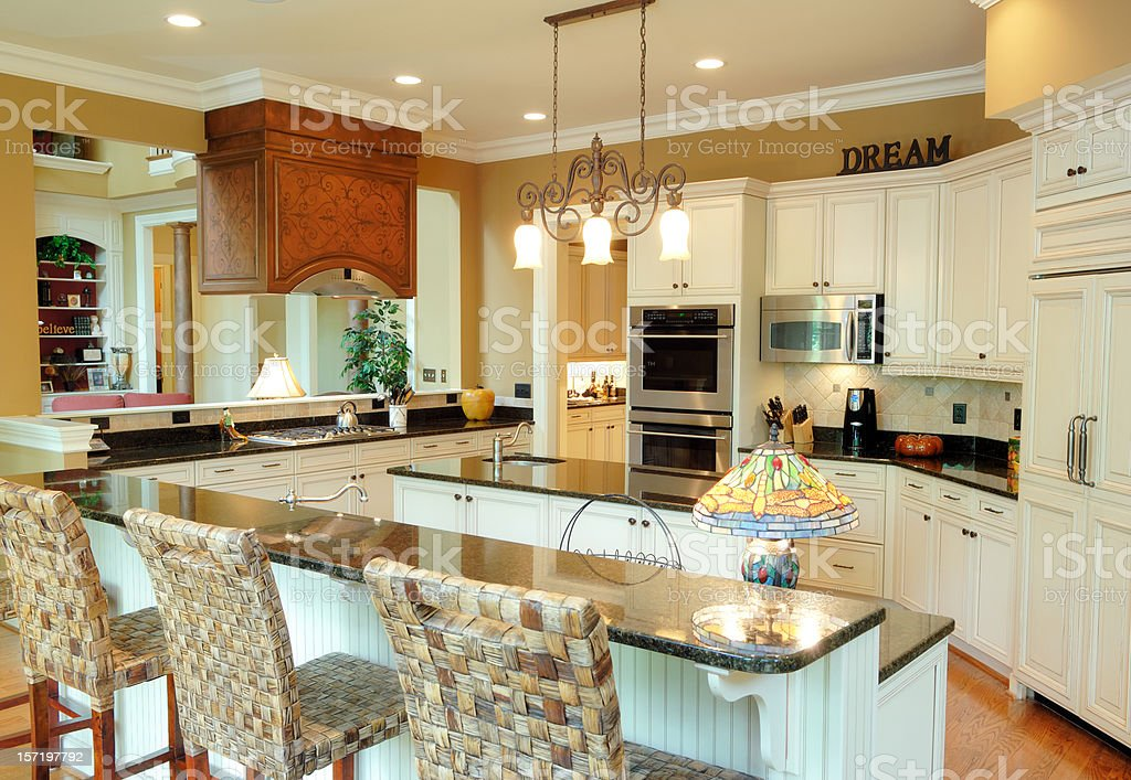 Dream Kitchen royalty-free stock photo