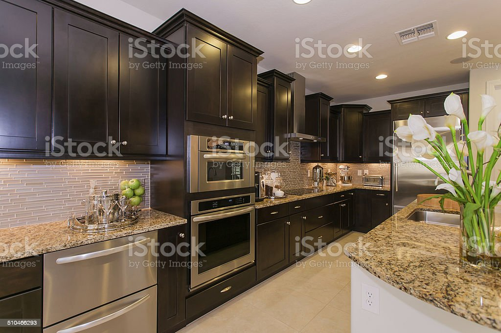 Dream Kitchen stock photo