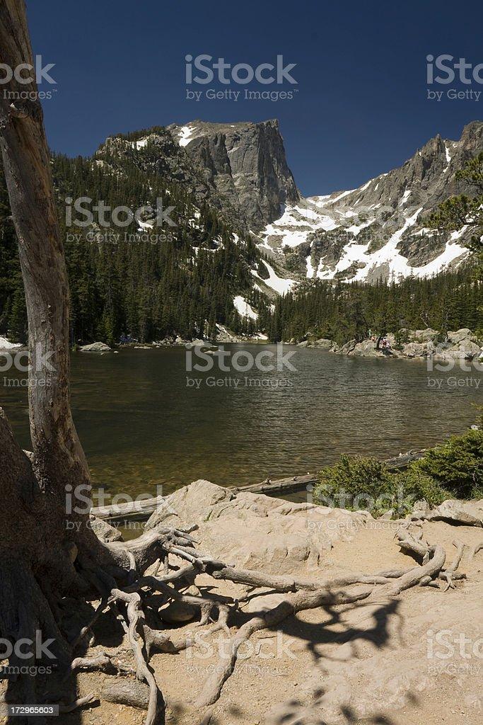 Dream Lake stock photo