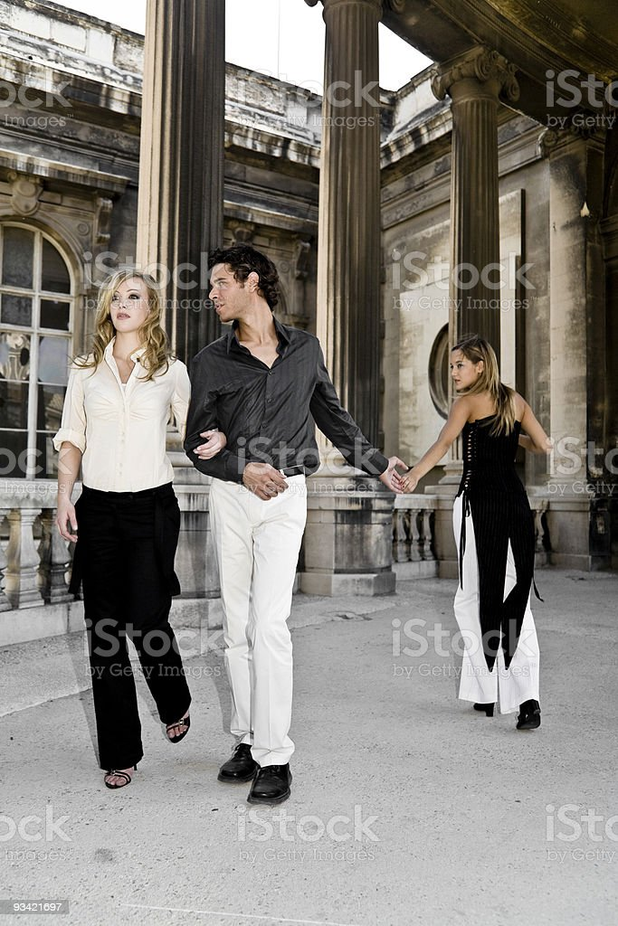dream of a playboy royalty-free stock photo