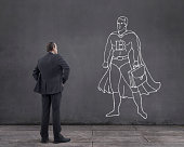 Dream of Businessman: Being Business Superhero