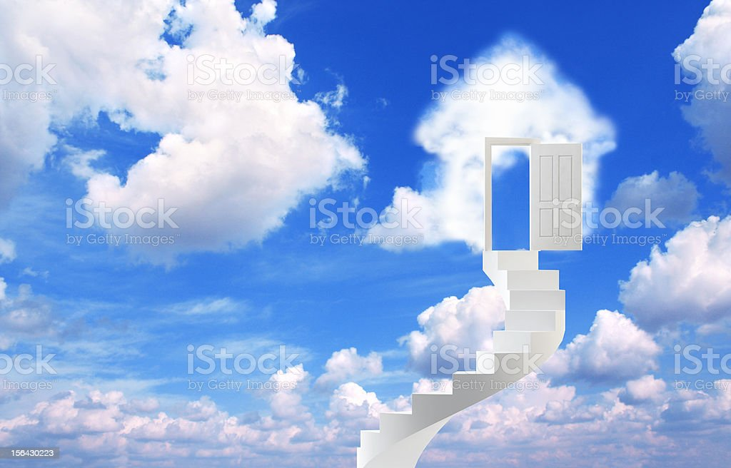Dream of own house royalty-free stock photo