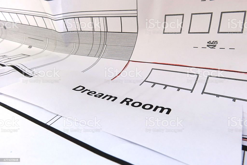 Dream Room stock photo