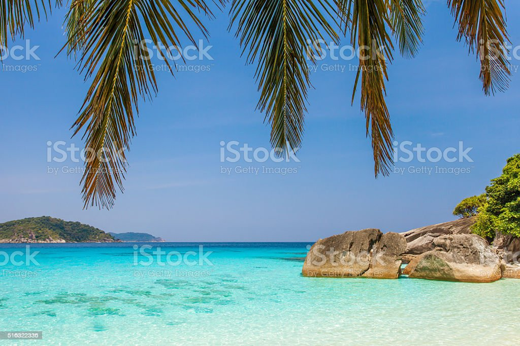 Dream Vacation In Thailand Paradise stock photo