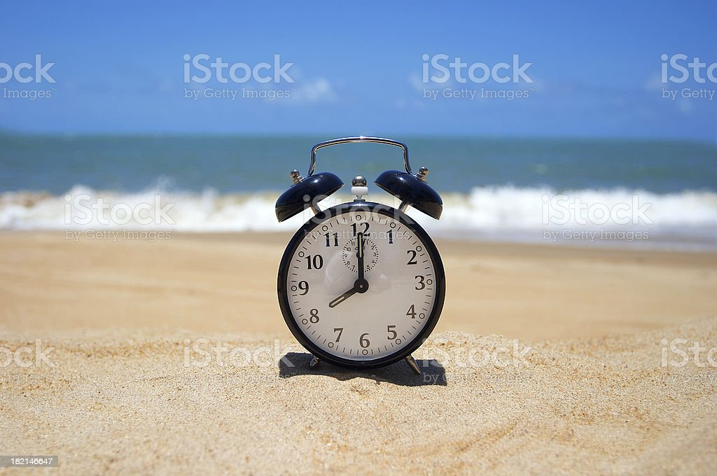 Dream - Vacation Time (Brazil) royalty-free stock photo