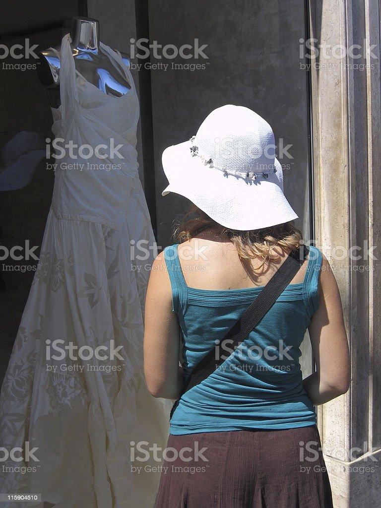 Dream Wedding Dress royalty-free stock photo