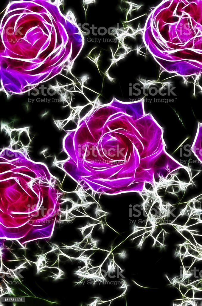 Dream with Roses royalty-free stock photo