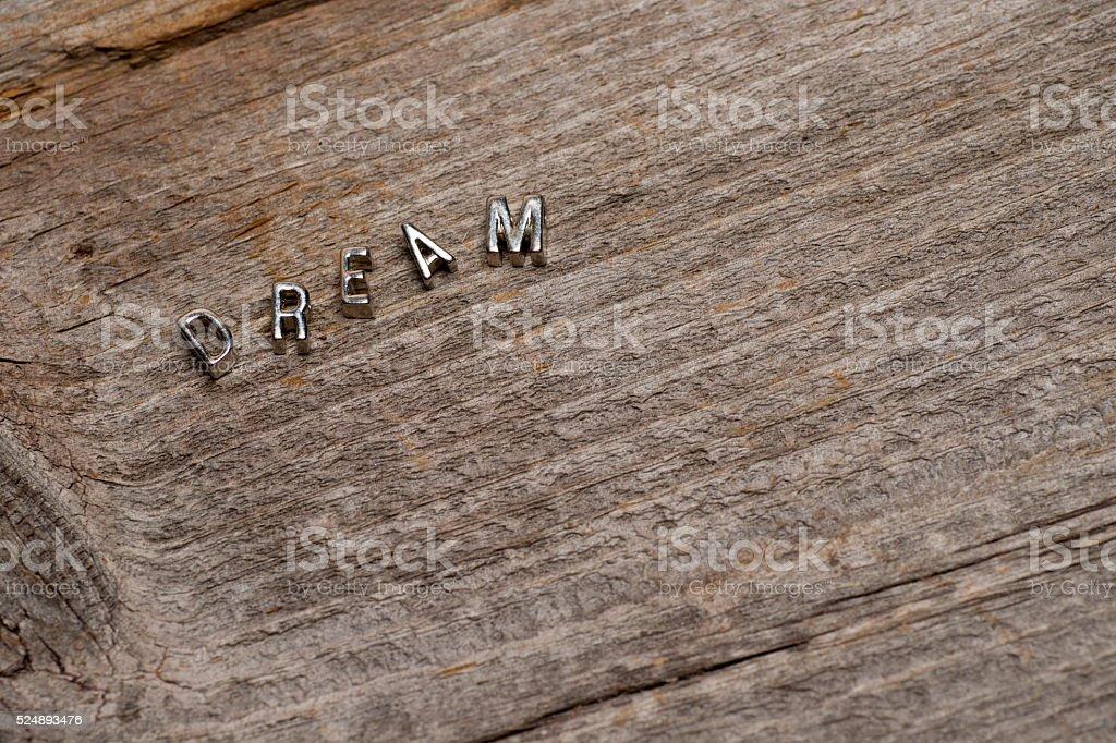 Dream Wood Background stock photo