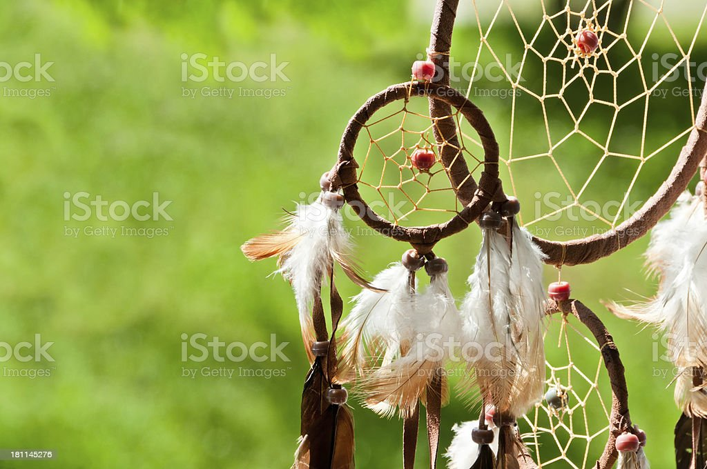 dreamcatcher in sunlight royalty-free stock photo