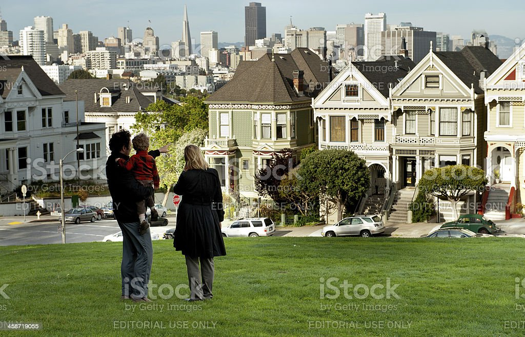 Dreaming of a house? stock photo