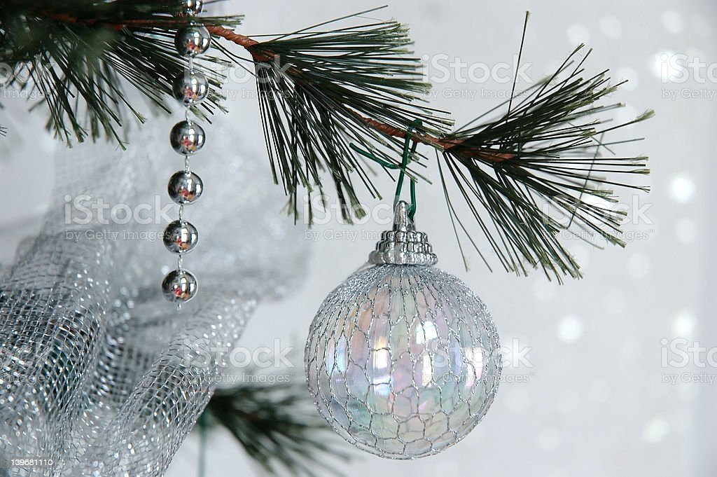 Dreaming of a White Christmas royalty-free stock photo