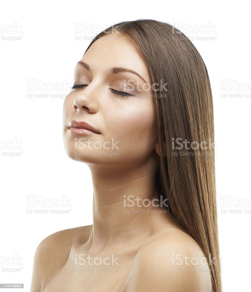Dreaming of beauty royalty-free stock photo