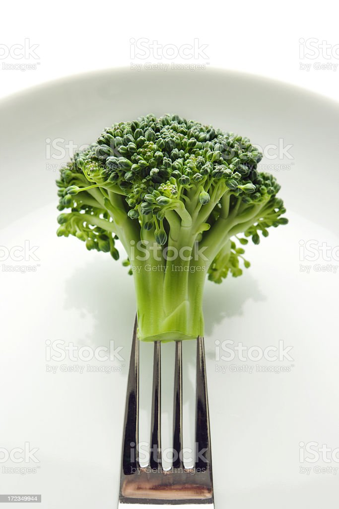 Dreaming of Broccoli royalty-free stock photo