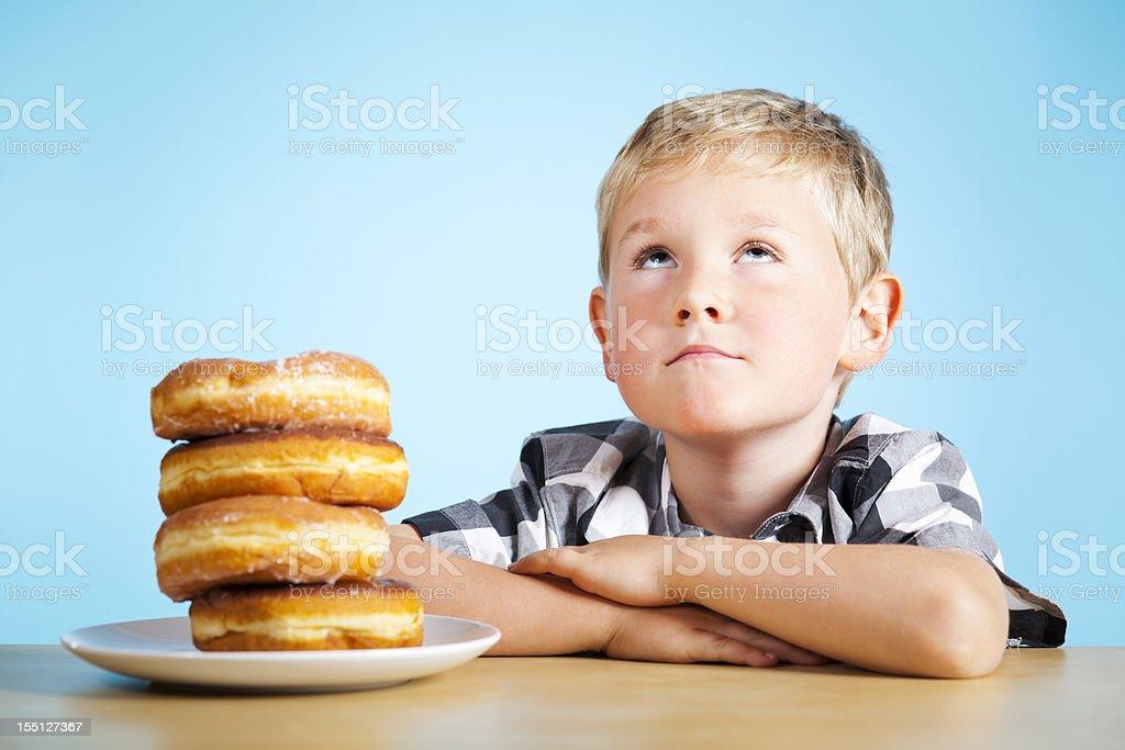 Dreaming of Doughnuts royalty-free stock photo
