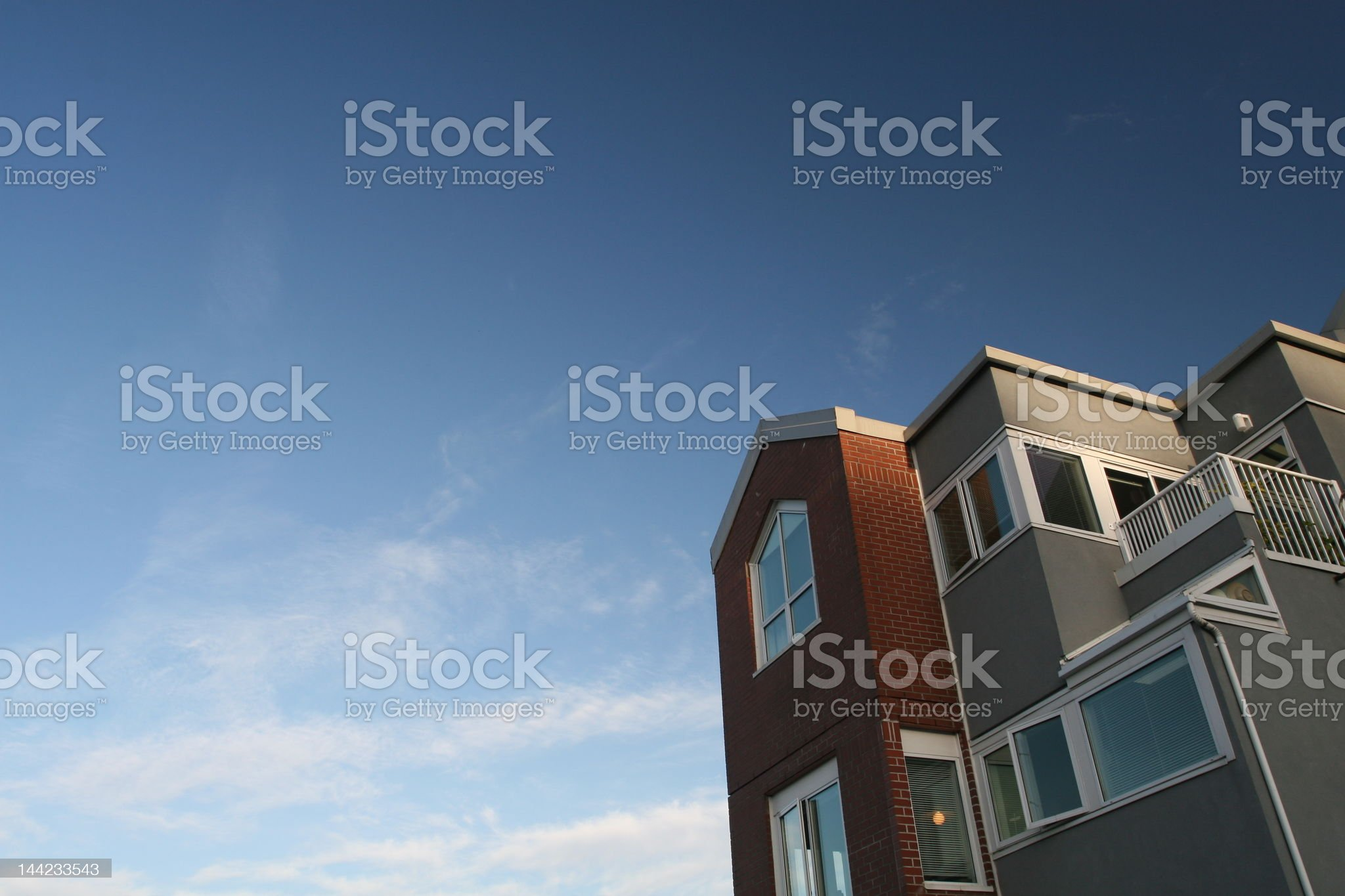 Dreaming of Real Estate royalty-free stock photo