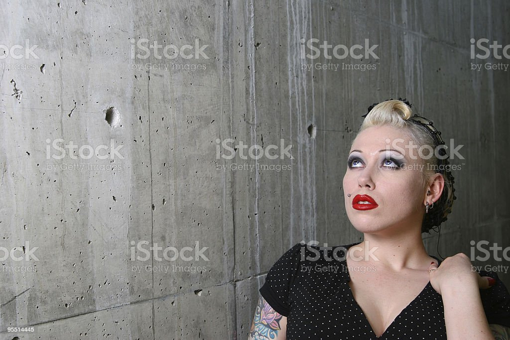 Dreaming of the Forties royalty-free stock photo