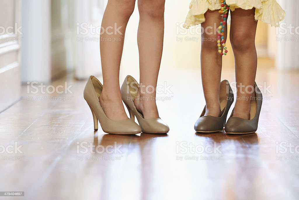 Dreaming of womanhood.... stock photo