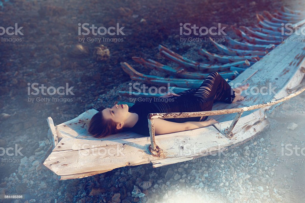 dreaming of you stock photo