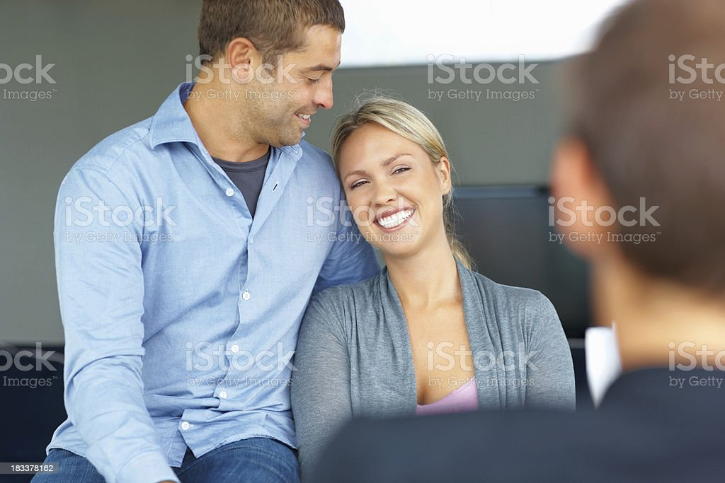 Dreaming their future royalty-free stock photo