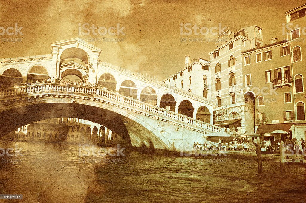 Dreaming Venice Series royalty-free stock photo