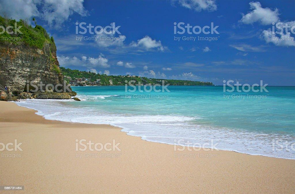 Dreamland Beach, Bali stock photo