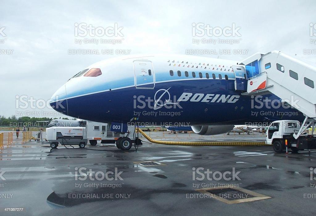 Dreamliner royalty-free stock photo