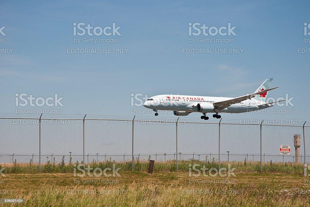 Dreamliner stock photo