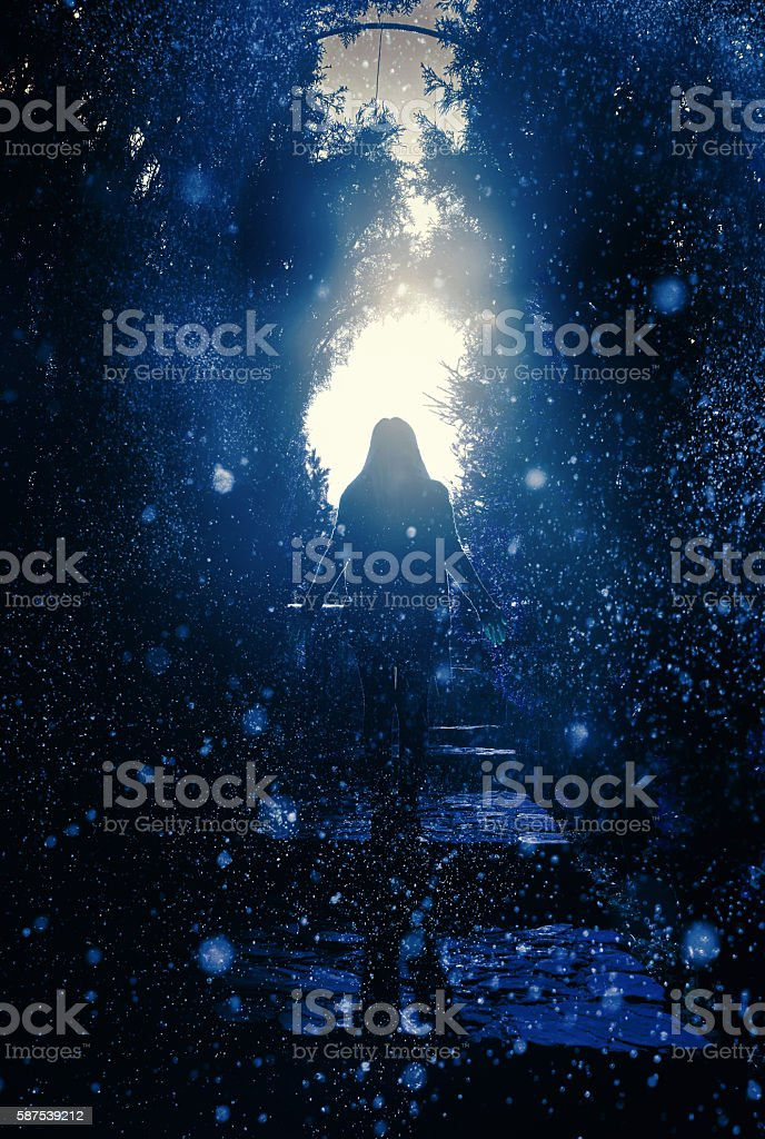 dreams and hope stock photo