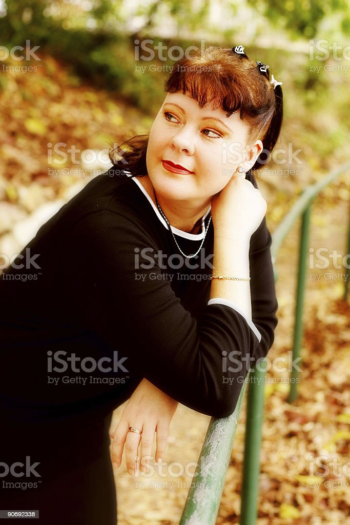 Dreamy Autumn Days stock photo