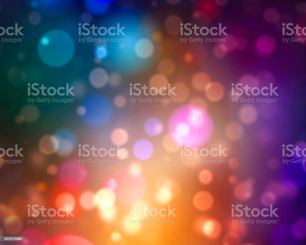 Dreamy Bokeh Lights Background stock photo
