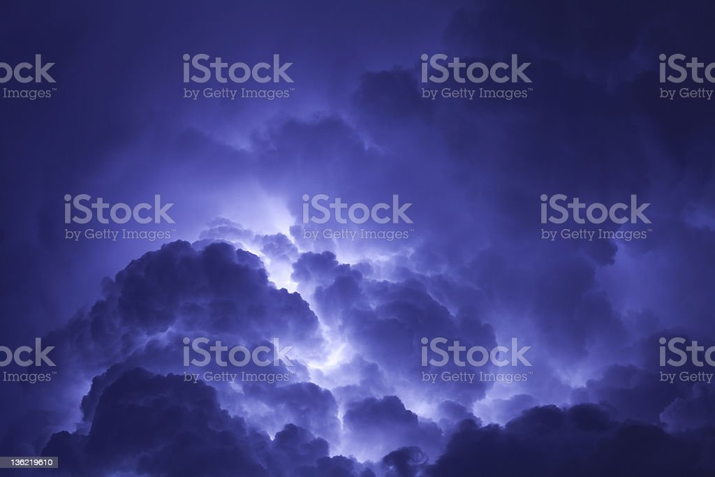 Dreamy Clouds royalty-free stock photo
