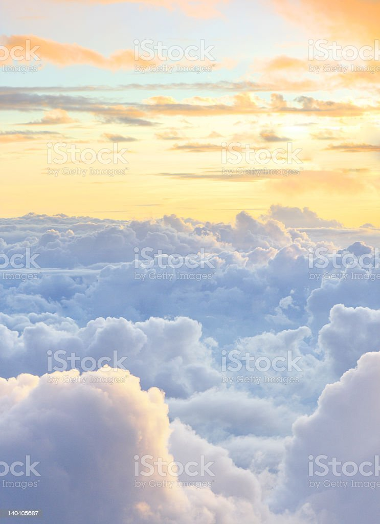 dreamy cloudscape royalty-free stock photo